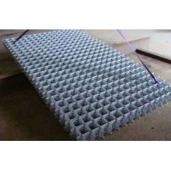 100x100x8 mm galvaniseret rionet - format 1500x2500 mm