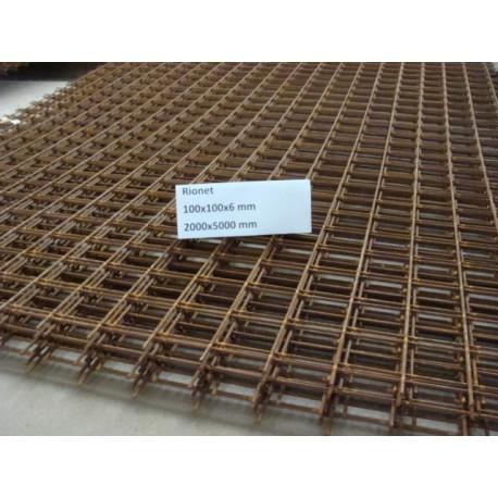 100x100x6 mm rionet - format 2000x5000 mm