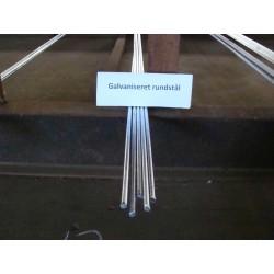 10 mm rundstål á 6m galvaniseret