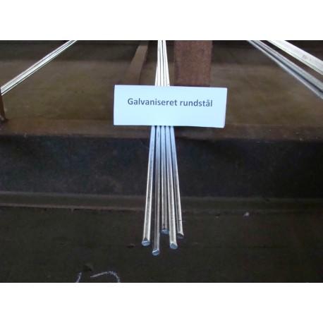 16 mm rundstål á 6m galvaniseret
