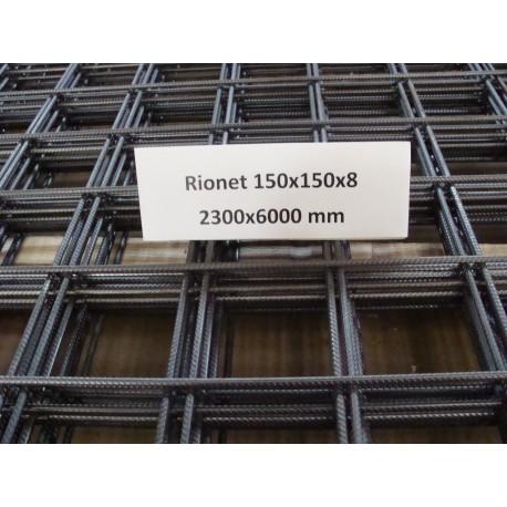 150x150x8 mm rionet 2300x6000 mm